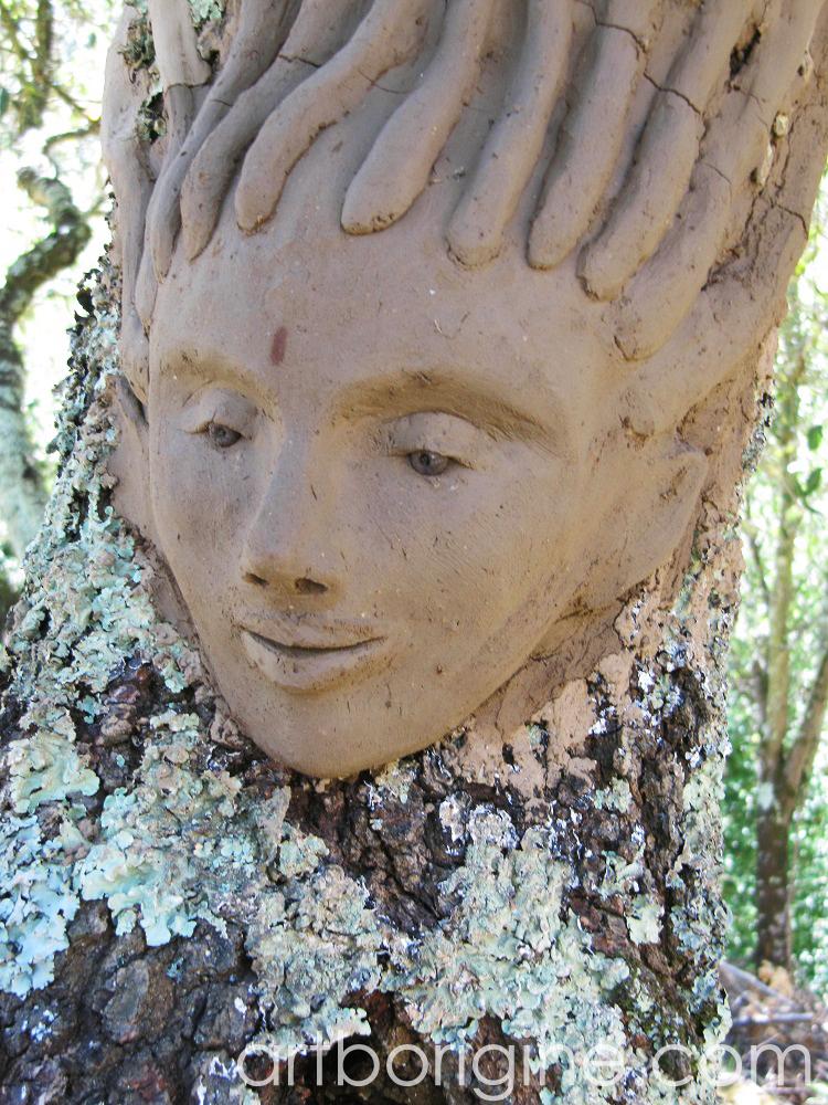 Le visage de l'Elfe d'artborigine